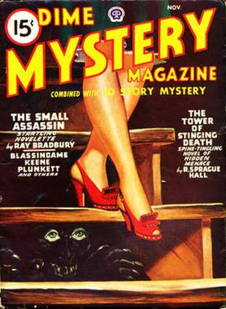 "The Small Assassin (short story) - ""The Small Assassin"" was the cover story in the November 1946 issue of Dime Mystery"