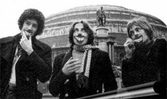 Smile (band) - Brian May (left), Tim Staffell  and Roger Taylor, c. 1970