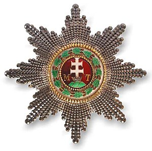Order of Saint Stephen of Hungary - Grand Cross breast star