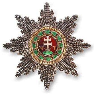 Order of Saint Stephen of Hungary - Grand Cross breast star