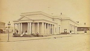 City of St Kilda - The first town hall, corner of Grey and Barkly Streets