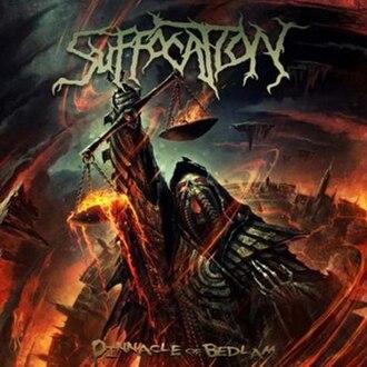 Pinnacle of Bedlam - Image: Suffocation Pinnacle of Bedlam album cover