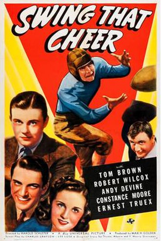 Swing That Cheer - Theatrical release poster