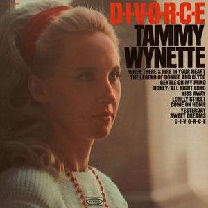 D-I-V-O-R-C-E (album) - Image: TAMMY WYNETTE lp