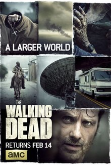 View The Walking Dead - Season 6 (2014) TV Series poster on Ganool123