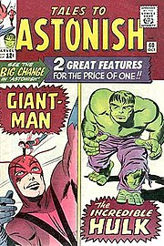 Tales to Astonish #60 (Oct. 1964). Cover art by Jack Kirby and Sol Brodsky.