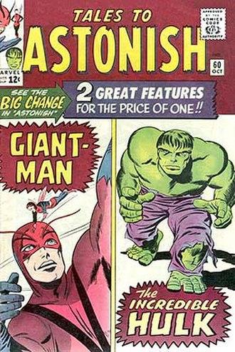 The Incredible Hulk (comic book) - Image: Talestoastonish 60