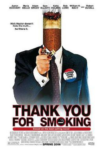 Thank You for Smoking - Theatrical release poster