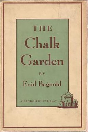 The Chalk Garden - First edition (Random House, 1956)