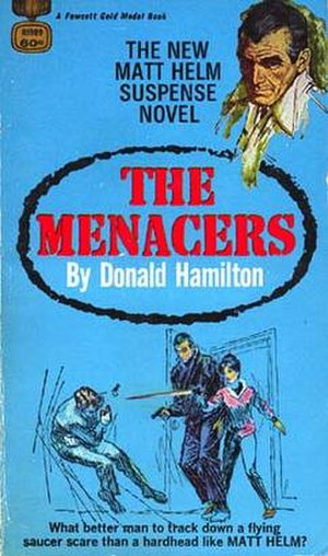The Menacers - Original 1968 paperback cover