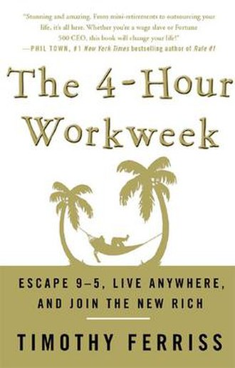 The 4-Hour Workweek - Image: The 4 Hour Workweek (front cover)