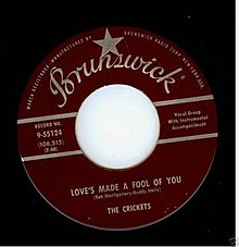 The Crickets Love's Made a Fool of You 1959..JPG