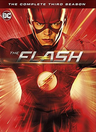 The Flash (season 3) - Home media cover