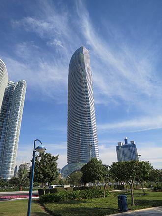 The Landmark (Abu Dhabi) - The Landmark in March 2013