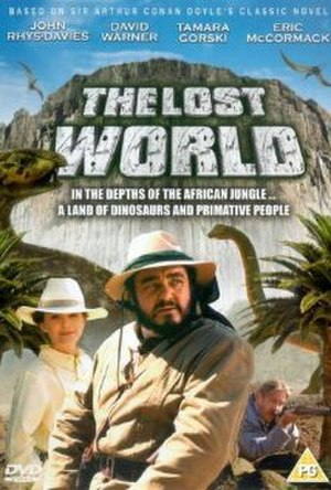 The Lost World (1992 film) - DVD cover