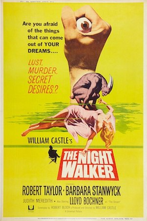 The Night Walker (film) - Australian Theatrical Film Poster