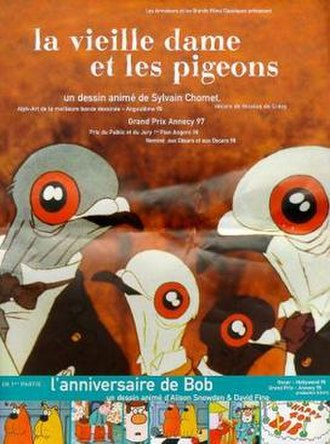 The Old Lady and the Pigeons - Theatrical release poster