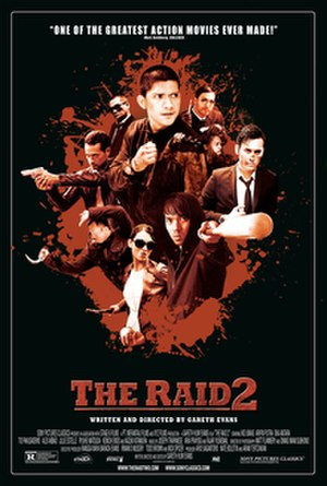 The Raid 2 - Theatrical release poster