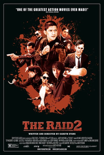 Picture of a movie: The Raid 2