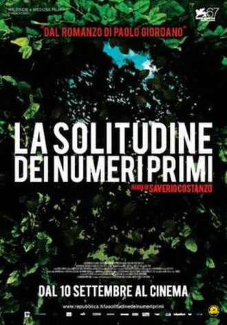 The Solitude of Prime Numbers - Film poster