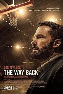 <i>The Way Back</i> (2020 film) 2020 American sports-drama film directed by Gavin OConnor