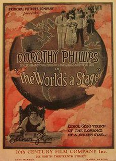 <i>The Worlds a Stage</i> 1922 film directed by Colin Campbell