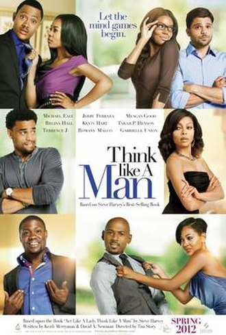 Think Like a Man - Theatrical release poster