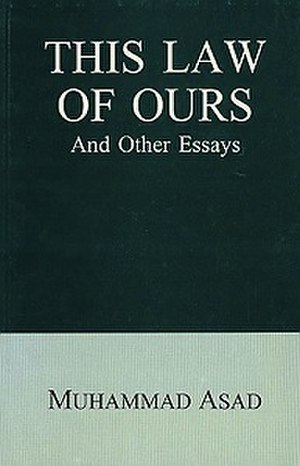 This Law of Ours and Other Essays - Image: This Law of Ours and Other Essays book cover