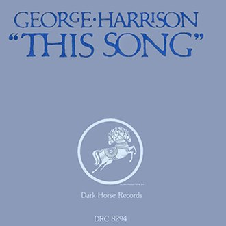 This Song - Image: This Song (George Harrison single cover art)
