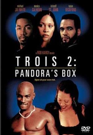 Trois 2: Pandora's Box - DVD cover