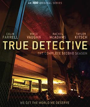 True Detective (season 2) - Blu-ray cover