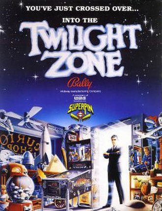Twilight Zone (pinball) - Image: Twillight Zone pinball