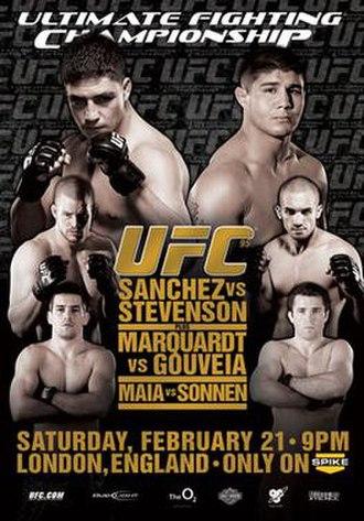 UFC 95 - Image: Ufc 95poster
