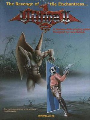 Ultima II: The Revenge of the Enchantress - DOS cover