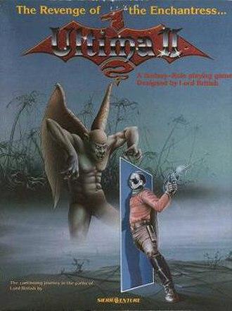 Ultima II: The Revenge of the Enchantress - Image: Ultima II cover