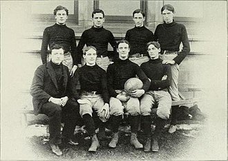 1895–96 Chicago Maroons men's basketball team - Image: University of Chicago 1895 96 Basketball Team