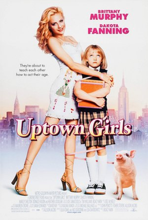 Uptown Girls - Theatrical release poster