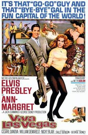 Viva Las Vegas - Image: Viva Las Vegas 1964 Poster