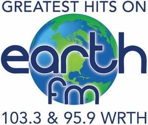 WRTH (FM) - Image: WRTH 103.3 95.9 logo