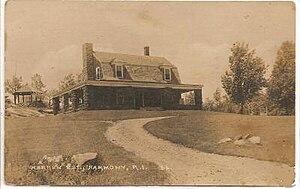 Harmony, Rhode Island - Image: Warren Estate