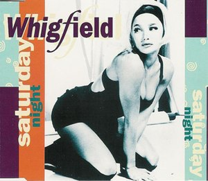 Saturday Night (Whigfield song) - Image: Whigfieldsaturdaynig ht