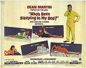 Who's Been Sleeping in My Bed? - Theatrical release lobby card