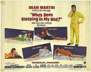 <i>Whos Been Sleeping in My Bed?</i> 1963 film by Daniel Mann