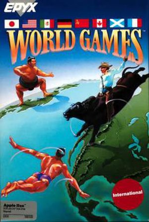 World Games (video game) - Image: World Games cover