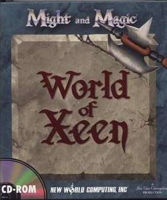 Might and Magic V: Darkside of Xeen - World of Xeen CD box cover