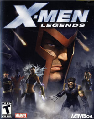 X-Men Legends - North American cover art