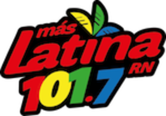 XHTD-FM - Logo used during the Más Latina format