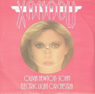 Xanadu (Olivia Newton-John and Electric Light Orchestra song) - Image: Xanadusingle