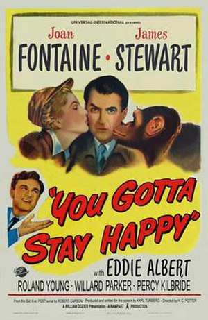 You Gotta Stay Happy - Theatrical poster