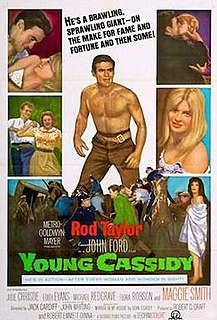 <i>Young Cassidy</i> 1965 film by John Ford, Jack Cardiff